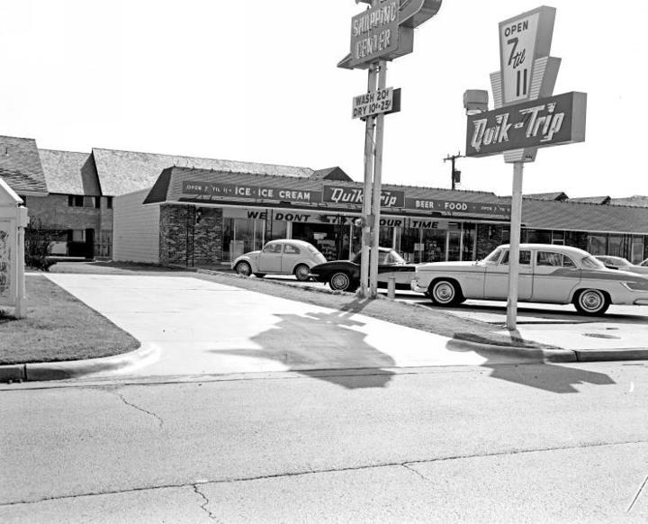 Look how small the Quik Trip used to be...huge now. | I Love Tulsa | Tulsa time, Tulsa oklahoma ...