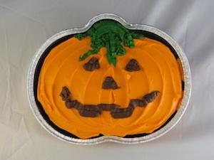 Fall Birthday Pumpkin Cake at Birthday.com