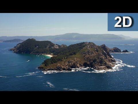 Illas Cíes. Parque nacional marítimo terrestre de las islas atlánticas de Galicia. - YouTube