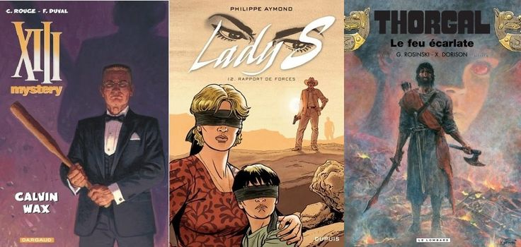 Trois sorties BD évènements d'octobre - novembre 2016