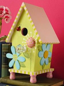 Craft Ideas : Projects : Details : whimsical-birdhouse