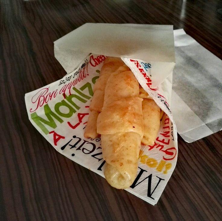 Sajtos croissant /teljes kiőrlèsűből