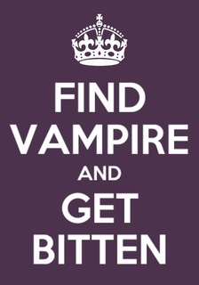 Because vampires are always in style ;-)