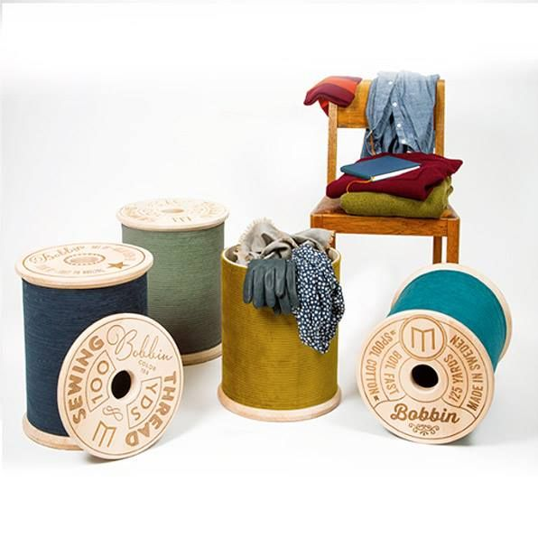Giant bobbin storage stool! - storage and cute I 'sew' need to get me some of these via cbuk