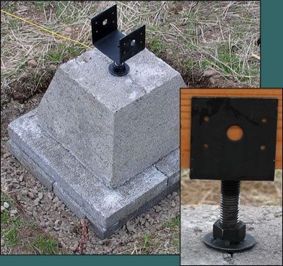 how to build foundation piers - Google Search