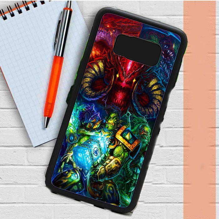 World Of Warcraft Starcraft And Diablo Samsung Galaxy S8 Case Dewantary