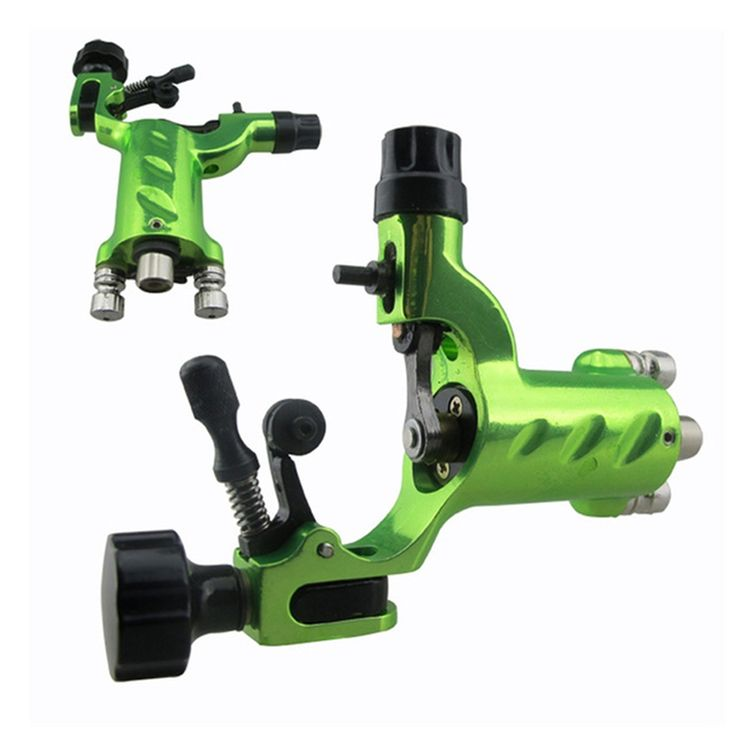 Green Dragonfly Rotary Tattoo Machine Shader Liner clip cord  Professional Tatoo Motor Gun Kits for Artists maquinas de tatuajes #Affiliate