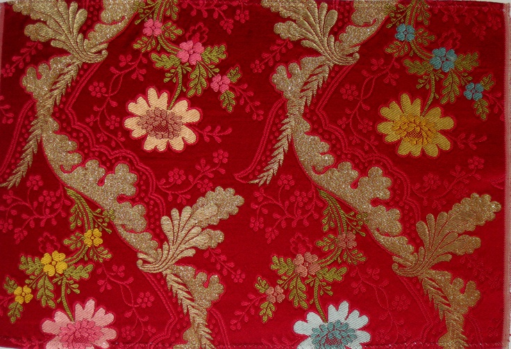 """San Juan"", manual silk fabric from Garin company (Valencia, Spain)"
