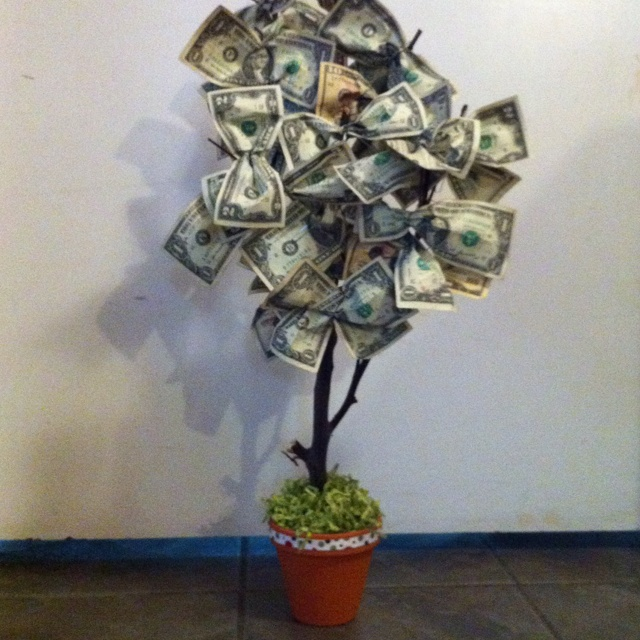52 best money trees images on pinterest gift money money money does grow on this tree great teacher gift negle Image collections