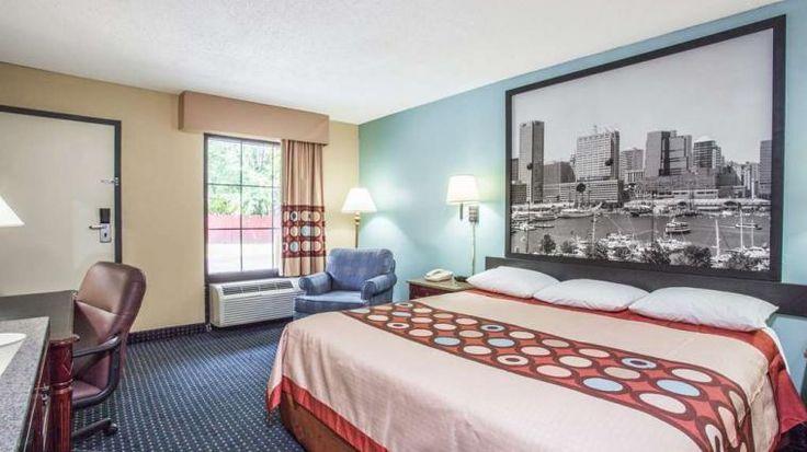 HOTEL SUPER 8 MOTEL - CAMP SPRINGS/ANDREWS AFB DC AREA CAMP ...