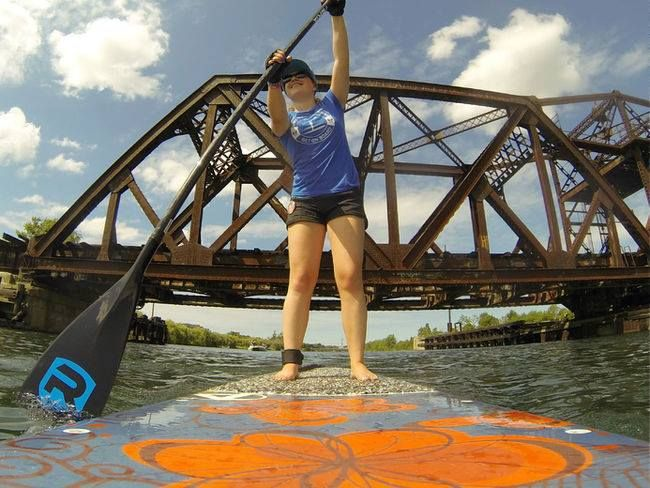 SUP fundraiser in Welland Ontario Canada which raises funds for brain cancer research with the Canadian Cancer Society. Looking for sponsors #SUP #standuppaddling #cancerfighter https://www.facebook.com/maddisrideonboard?ref=aymt_homepage_panel https://www.youtube.com/watch?v=FEATESOI9Is