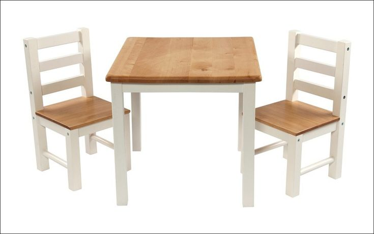 Wooden Table And Chair Set For Kids 0