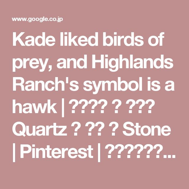 Kade liked birds of prey, and Highlands Ranch's symbol is a hawk | イラスト 墨 アート Quartz 画 音楽 書 Stone | Pinterest | デザイン、精神ガイド、タトゥー