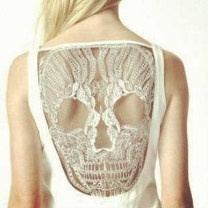a lace skull: Women Fashion, Back Dresses, Sake Attire, Lace Skull, Skull Dresses, Lace Tanks, Children Clothing, Weights Loss, Lace Dresses