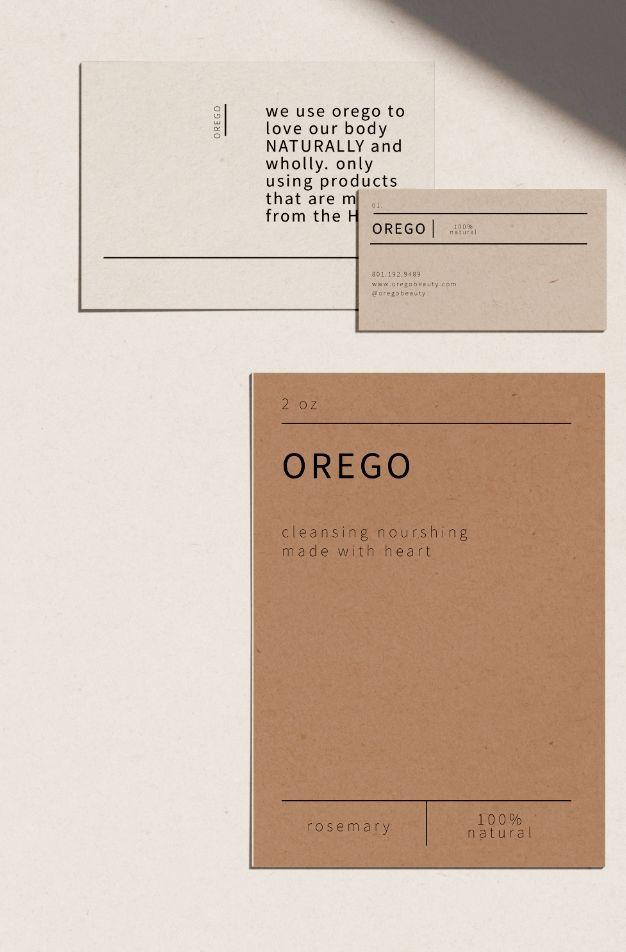 marca mínima limpia   – Stationery