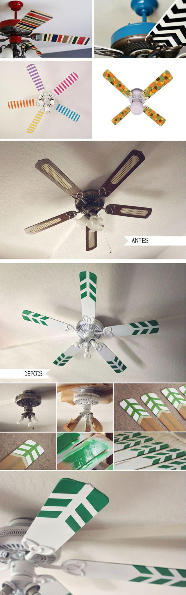 Reforma no ventilador!