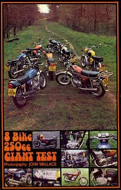 1970's 250cc Motorcycle road test