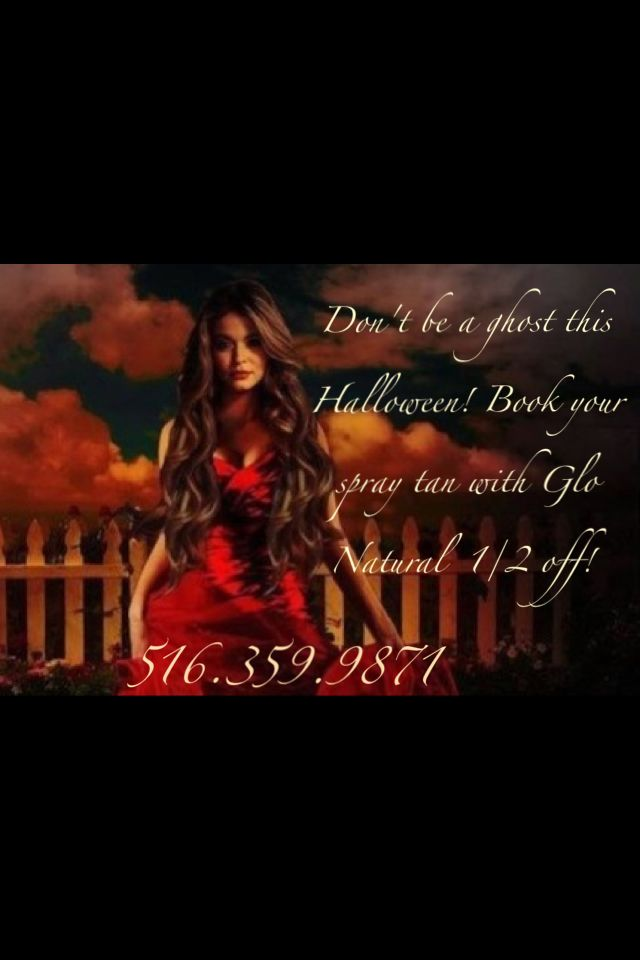 1 2 Off Halloween Spray Tan Special Only By Glo Natural