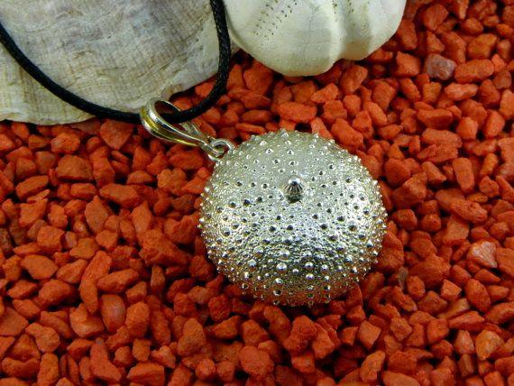Ciondolo Riccio di Mare Argento 800 grande di GioielliOliveri