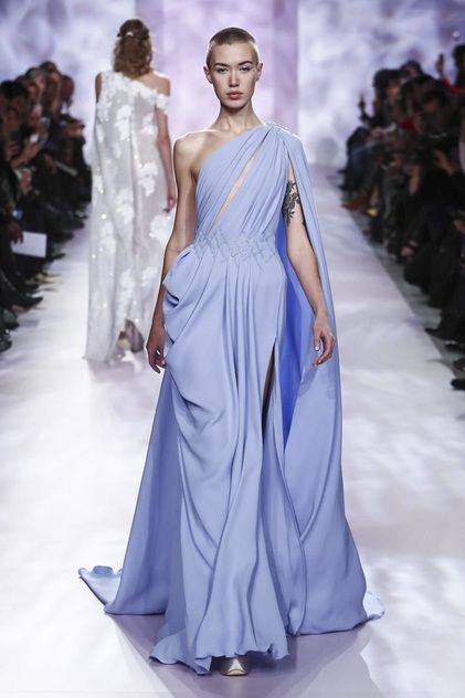 Georges Chakra Spring 2017 Couture - Worn by Giuliana Rancic at the '2017 Oscars'
