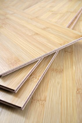Bamboo flooring has the look, feel and durability of wood. This rapidly renewable resource can be harvested in four to six years (compared with decades for most trees used for wood floors). And don't feel bad about the pandas. Of more than a thousand varieties of bamboo, only a few are used for flooring, and they're not the ones that pandas eat.