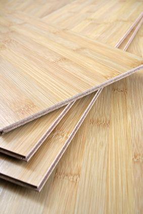 Bamboo flooring - environmentally friendly