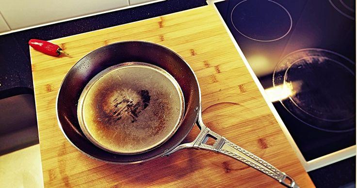Grossmutter hatte Recht - EISENPFANNEN sind geil! #eisen #eisenpfanne #teflon #kochen #gesund #lecker #gutenappetit #bonappetit #einfach #simple #easy #genuss #genießen #mabakocht #maba #mabamylife