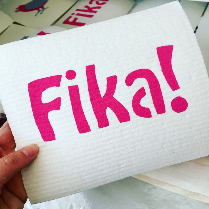 Fika design- hand screen printed Swedish Dishcloth by susielottadesigns on Etsy  #fika #lagom #swedishdishcloth     https://www.etsy.com/au/listing/574062143/fika-design-hand-screen-printed-swedish