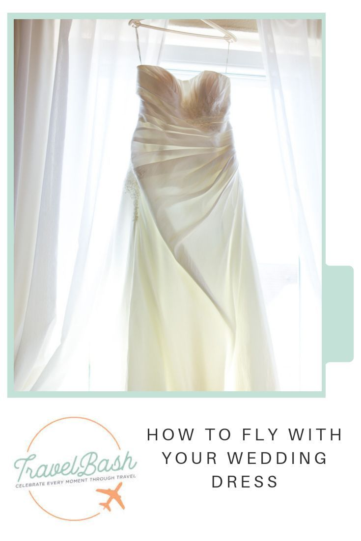 How to Fly with Your Wedding Dress,  #DestinationWeddingetiquette #dress #Fly #Wedding
