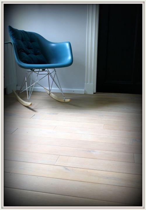 Planken vloer eiken Kleur: berken