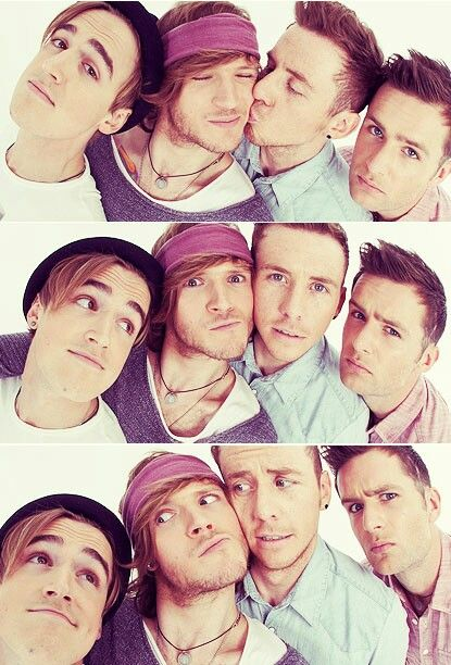 Mcfly. Tom looks so adorable!