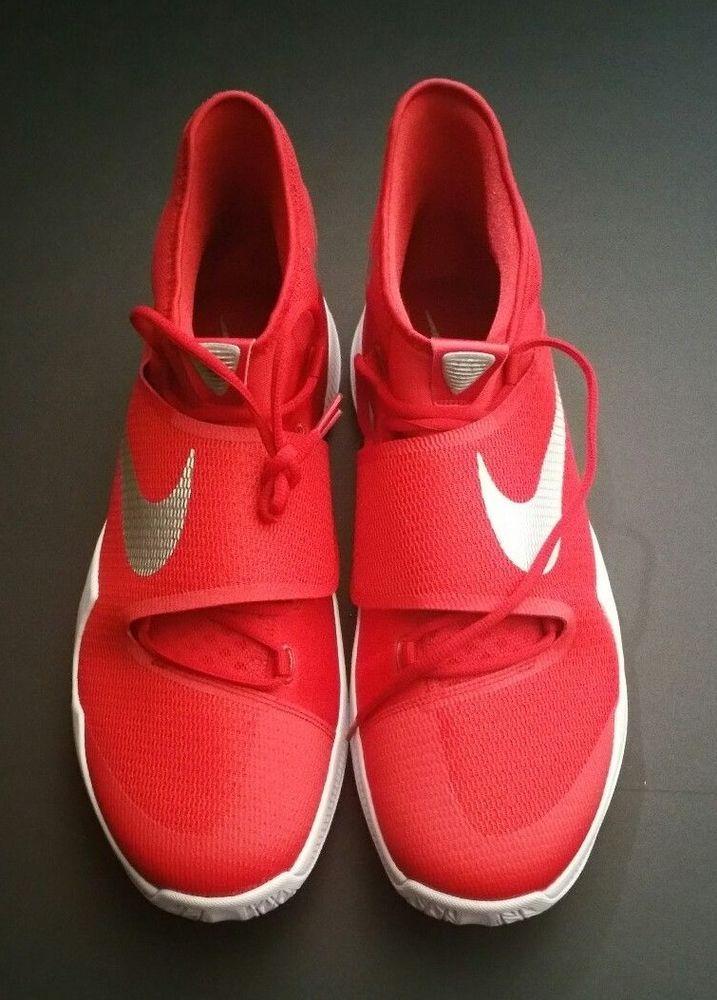 511b36365563 Nike Zoom Men s Hyperrev 2016 TB Red White Basketball Shoe Size 18  Nike   BasketballShoes