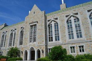 Boston College Photo Tour: Higgins Hall at Boston College