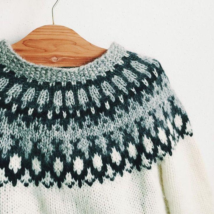 Скандинавский свитер: простота кроя и особый узор: публикации и мастер-классы – Ярмарка Мастеров