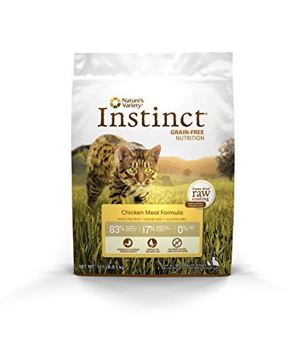 Nature's Variety Instinct is formulated like your cat's ancestral diet - high protein grain-free and gluten-free. Each formula is thoughtfully balanced with the wholesome foods your cat would eat in...