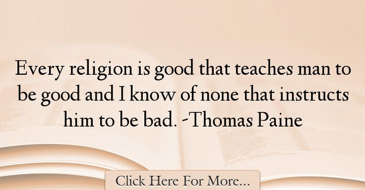 Thomas Paine Quotes About Religion - 58596
