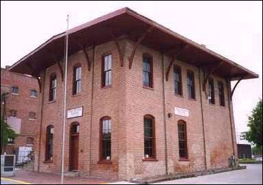 Great Western Railroad Depot--Lincoln gave his Farewell Address before boarding a special inaugural train that would take him to Washington D.C. to begin his term as the 16th President of the United States.