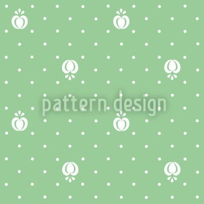 Fruits On Green designed by Liljana Panjtar, vector download available on patterndesigns.com