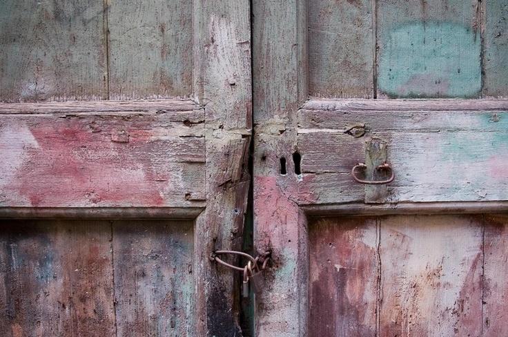 oude deur detail