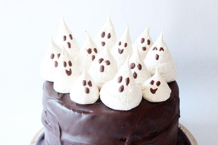 Haunted Halloween Cake Recipe