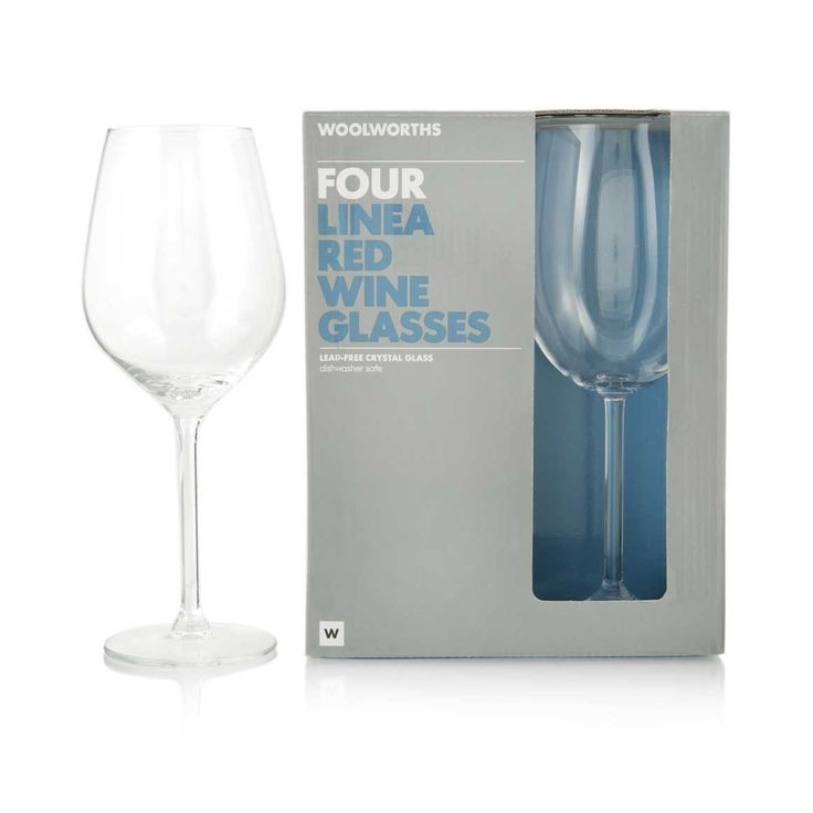 4-pack Linea Red Wine Glasses