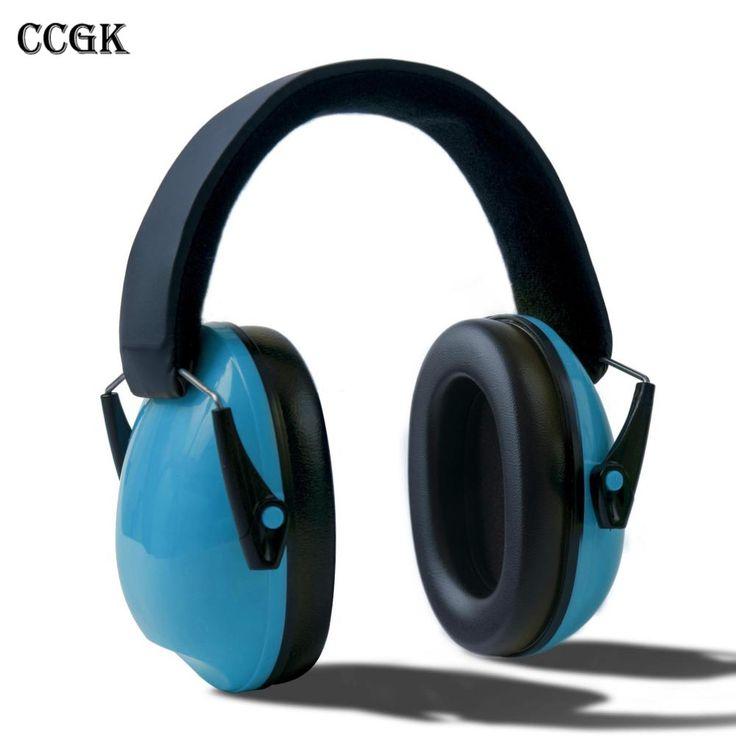 Children Foldable Headphones Ear Protectors Headset Portable Earphone Hearing Protection Soundproof  Ear Muff  Anti-noise