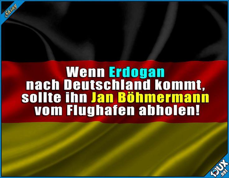 Den Gesichtsausdruck würde ich gerne sehen! :P #Deutschland #lustig #Humor #nurSpaß #Böhmermann #JanBöhmermann