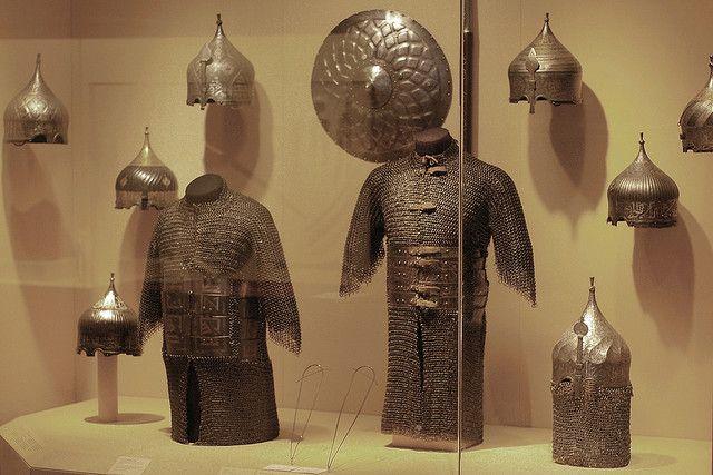 Islamic armour  Ottoman Turkey and Persia (Iran), 15th-16th centuries. MET