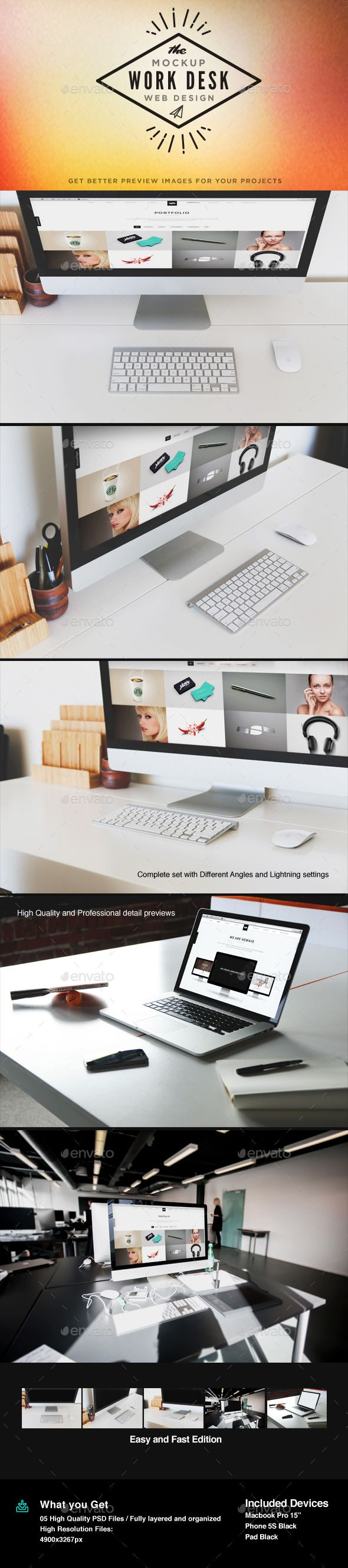 Display Screen MockUp — Photoshop PSD #responsive #responsive screen • Available here → https://graphicriver.net/item/display-screen-mockup/10937839?ref=pxcr