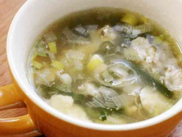 風邪の時に飲みたい♪葱生姜スープの画像