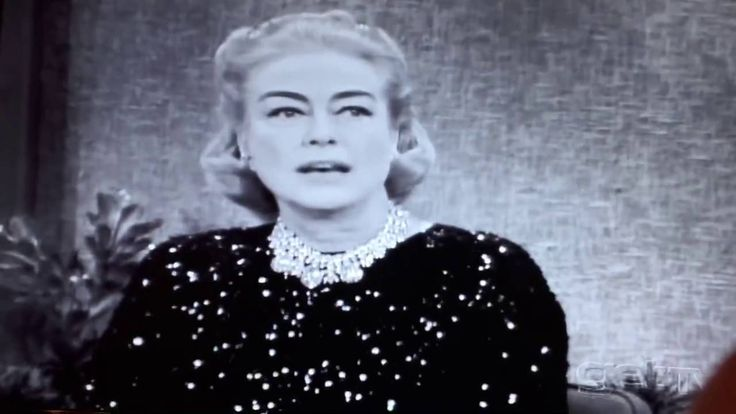JOAN CRAWFORD on MERV GRIFFIN SHOW March 7, 1963