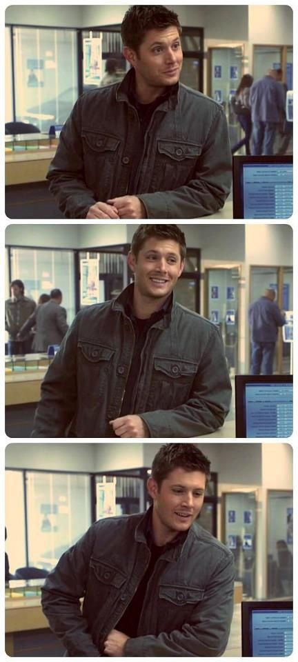 """So cute until you realize he's a Leviathan... ""Slash Fiction"", S7"" Me: Then he's even hotter. I love Leviathan Dean"