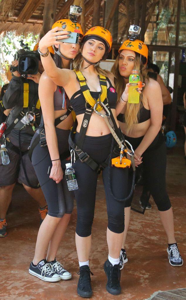 Khloé Kardashian, Kendall & Kylie Jenner from Kardashians Take Thailand | E! Online