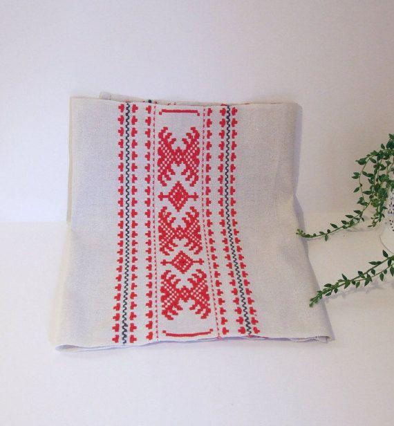 Suecia tradicional diseño corre mesa vintage // por tiendanordica
